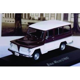 Rural Willys 1968 Ixo 1:43 Carros Inesquecíveis Miniaturas