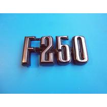 Emblema F-250 Ford Camioneta Camion Clasico