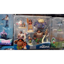 Moana Disney Set Con 6 Personajes Oferta!!!