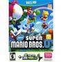 New Super Mario Bros U + New Super Luigi U - Wii U Lacrado