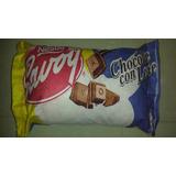 Cojines Forma Chocolate De Leche Savoy Hipoalergenico