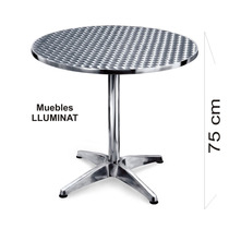 Mesa De Aluminio O Sillas, Bar, Restaurant, Cafe, Negocio