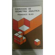 Livro Exercícios De Geometria Analítica Editora Papirus