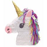 Piñata Unicornio Emoji Fiesta Chic Mujer Niña Vintage