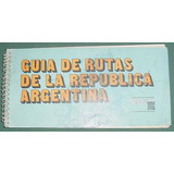 Guia Rutas Argentinas Msd Merck Sharp Dohme Con Mapas