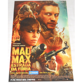 Mad Max Fury Road Pôster 43x28cm Exclusivo Cinépolis Únicoml