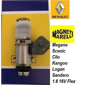 Bico Injetor Iwp 179 Renault 1.6 16v Flex -magneti Marelli