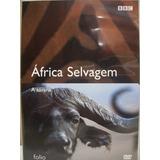 Dvd - África Selvagem - A Savana - Documentário Bbc