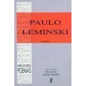 Livro Melhores Poemas Paulo Leminski