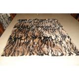 Retazo Tela Tripe Peluche Animal Print- P/almohadones 165x53