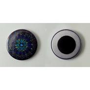 Button Imã De Geladeira 65mm (100 Buttons Desmontados)