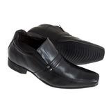 Sapato Sândalo Social Com Elevação Up Black