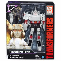 Megatron & Doomshot. Transformers Titans Return
