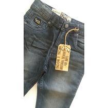 Calça Jeans Lavado Cor Preto Tigor T. Tigre Tam. 8 .original