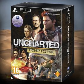 Uncharted Trilogy Edition Todos Los Juegos Full Ps3