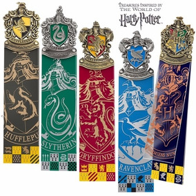 Marcador De Página Harry Potter Casas De Hogwarts (unidade)