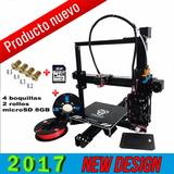 Impresora 3d + 2 Rollos + Micro Sd 8gb Kit Completo 2017