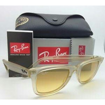 Ray Ban Wayfarer Ice Pop Yellow Nuevos Originales