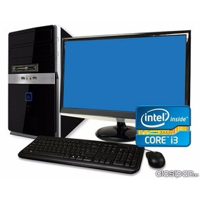 Computadora Intel Core I3 +monitor Led 19+teclado Y Mouse