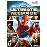 Videojuego Wii Marvel Ultimate Alliance