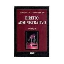Direito Administrativo Maria Sylvia Di Pietro E 1 Grátis