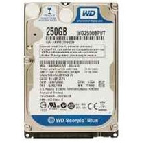 Disco Duro 250gb Sata Laptop 2.5 5400rpm Sellado De Fabrica!
