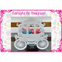 Carroza Candy Bar Fibrofacil Princesas