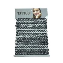 10 Cartela Colar Gargantilha Coleira Tattoo Choker Blogueira
