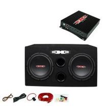 Xxx Xbx B 12 W Subwoofers De Coche Subs / Amplificador Kit