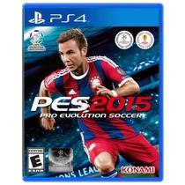 Jogo Ps4 Pes 2015 Pro Evolution Soccer 2015 Ps4