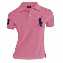 5 Camisas Pollo Feminina Big Poney Desconto Envio Imediato