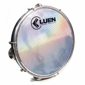 Pandeiro Instrumento De Percussão Profissional Preto 10 Pol