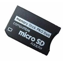 Adaptador Photofast Micro Sd A Produo Pro Duo Psp Camara