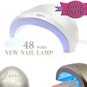 Lampara 48 Watts Led Profesional Uso Rudo Uñas+300 Cristales