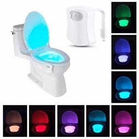 Led Rgb Luz Com Sensor Para Vaso Sanitário Privada 8 Cores