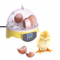 Chocadeira Elétrica De Plástico Para 7 Ovos Sob Encomenda