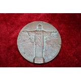 Conmemoracion 50 Años Cristo Redentor Brasil 1981 Bronce