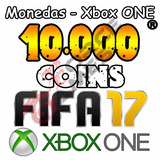 Monedas Coins Fifa 17 10k 10.000 Xbox One Mejor Precio !