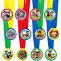 Medallas Distintivos Foami Fiestas Personalizados