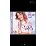 Violetta Hoy Somos Mas Cd Nuevo Disney Infantil