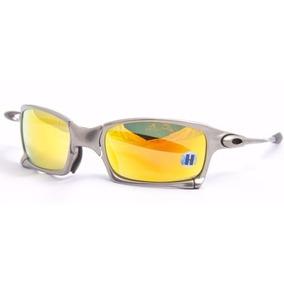 Oculos Oakley Xsquared 24k Gold 100% Novo E Original 6011 10 De Sol ... a94a16f66a