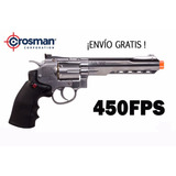 Marcadora Co2 Airsoftcrosman Revolver 357 Bb Pistol Silver
