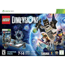 Juego Lego Dimensions Starter Pack Xbox 360 Ibushak Gaming