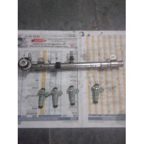 Flauta Injetora Com Bicos Gol 1.0 16v Turbo Original Bosch