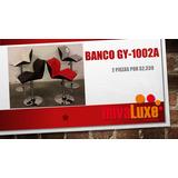 Juego De Bancos Modernos Varios Colores Gy-1002a