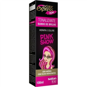 Tonalizante Color Express Fun Pink Show 100ml - Salon Line