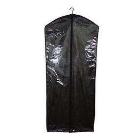 Capa Vestido Noiva Longo Com Zíper Frente Transparente 18pçs