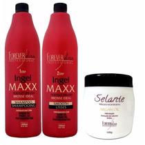Progressiva Ingel Max + Selante Argan Oil 500g Forever Liss