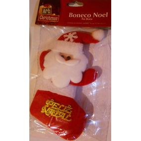 Enfeite Papai Noel Natal Para Pendurar Na Porta Ou Parede