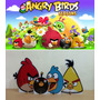 Kit Display De Chão Angry Birds 8 Peças + Painel 2,00x2,00mt